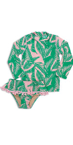 Shade Critters Girls Palm Reader Rashguard Set SG02A-056: