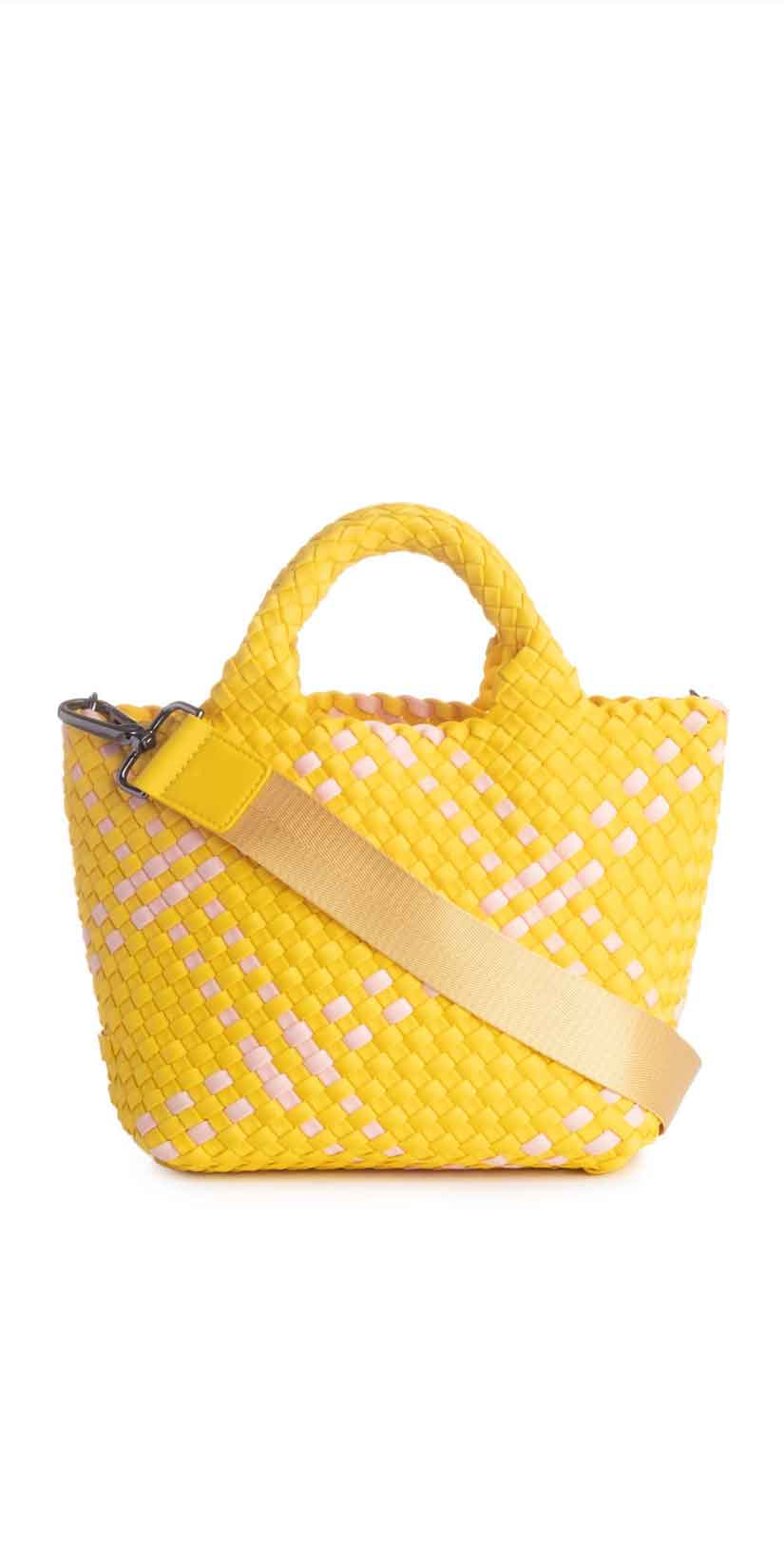 Deux Lux St. Barths Mini Tote in Limoncello: