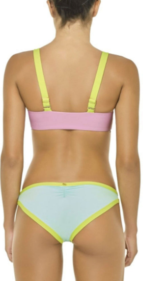 PilyQ Aruba Sporty Utopia Bralette Top back studio