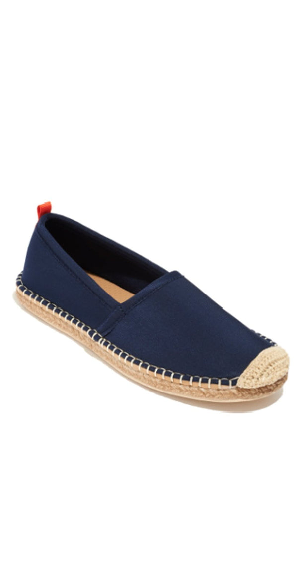 Sea Star Beachwear Kid's Beachcomber Espadrille in Dark Navy