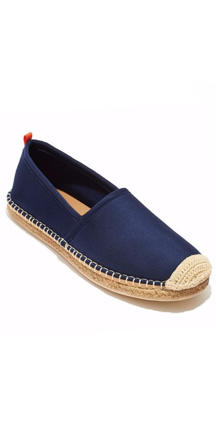Sea Star Beachwear Ladies Beachcomber Espadrille in Dark Navy: