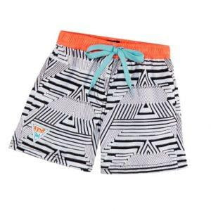 "Helen Jon 3"" LACE-UP BOARD SHORT HJRE-0501 BKS0"