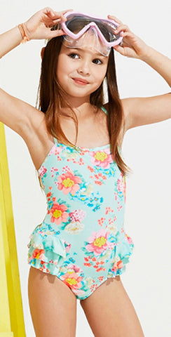 Seafolly Spring Bloom Girl's One Piece 15417T