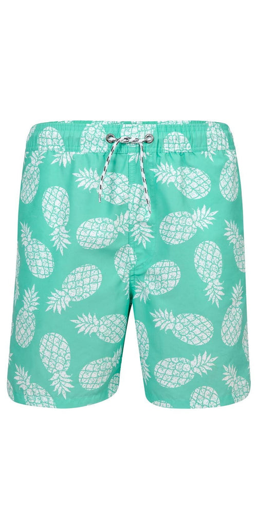 Snapperrock Boy's Mint Pineapple Pool Board Short B90034P
