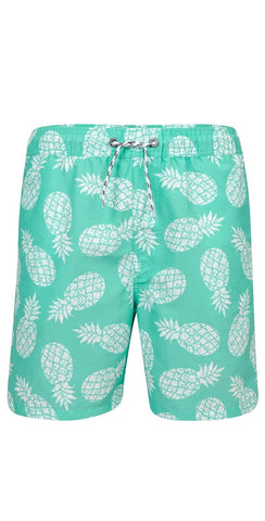 Snapperrock Men's Mint Pineapple Board Short M90006