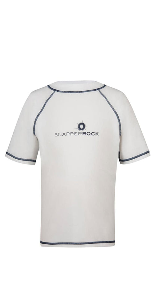 Snapperrock Boy's Short Sleeve Rashguard Top