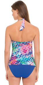 Profile by Gottex Song Bird Tankini Top E851-1B88-080: