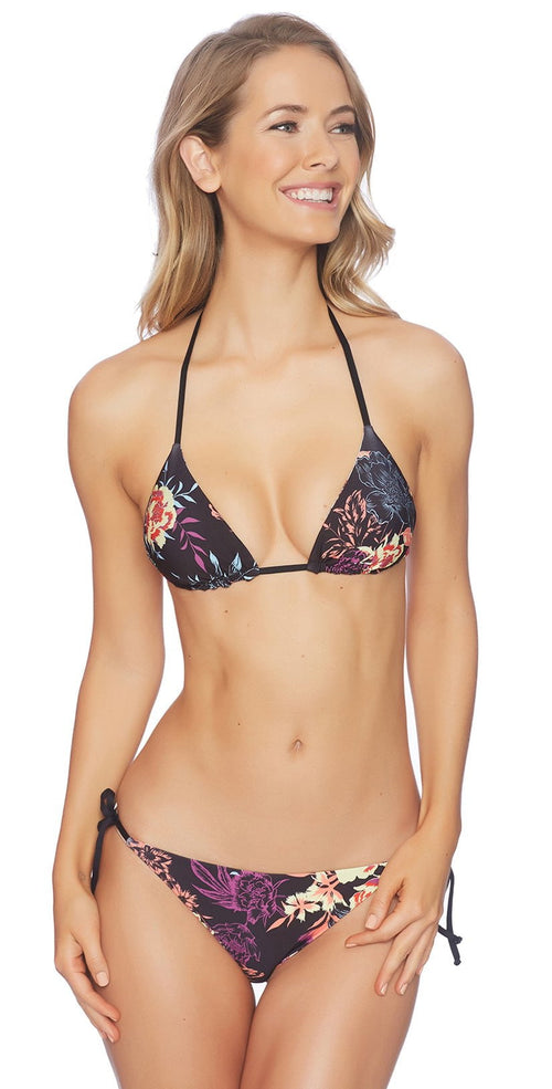 Splendid Electric Bloom Reversible Halter Top SP52128-MLT: