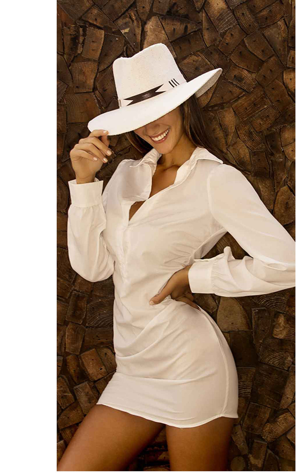 Nikki Beach Tribu Hat in White