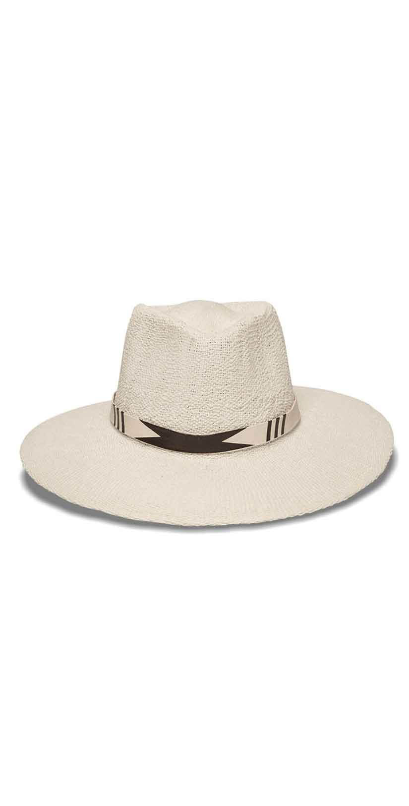 Nikki Beach Tribu Hat in White: