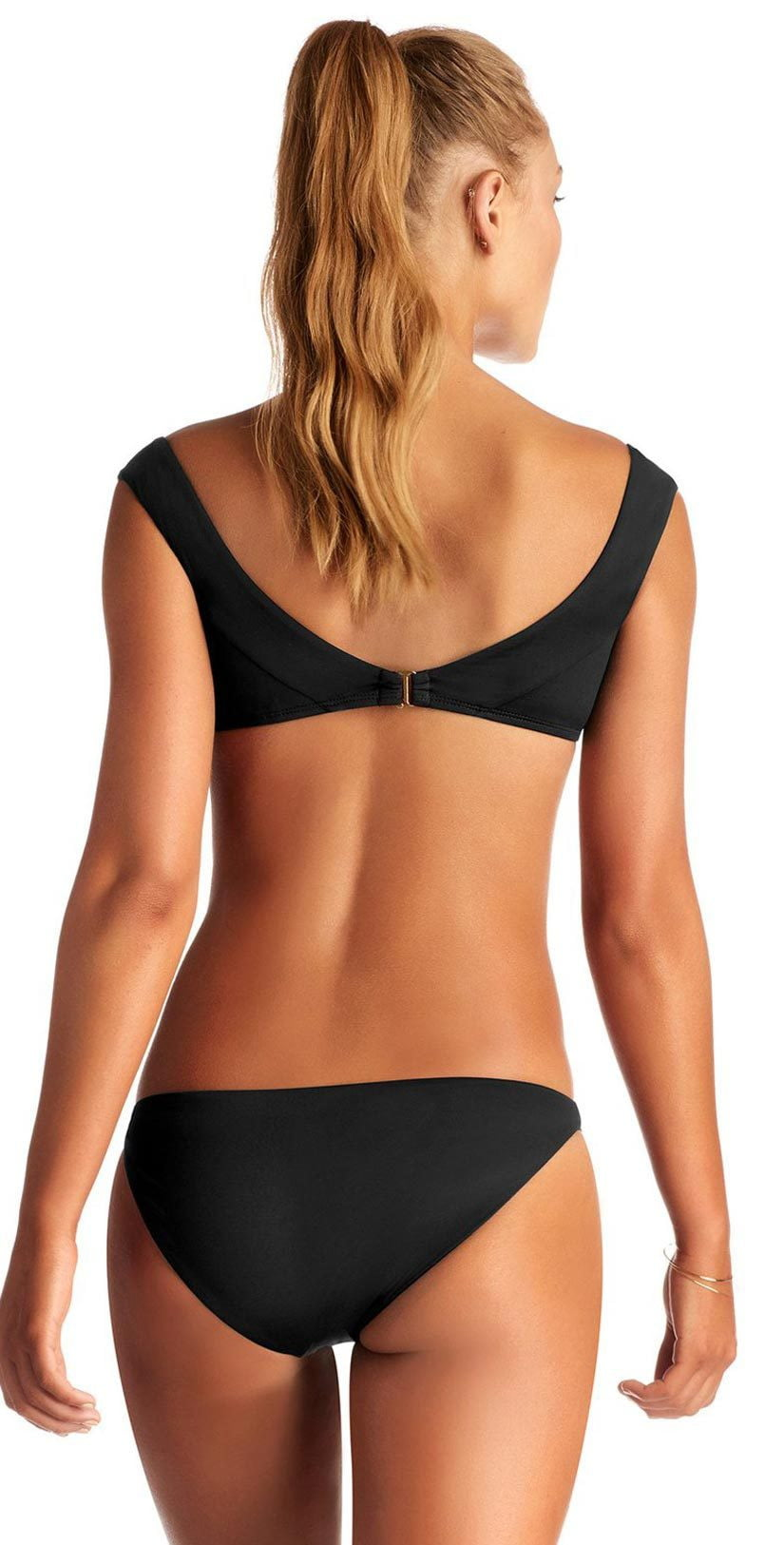 Vitamin A Capri EcoLux Top in Black 88T ECB: