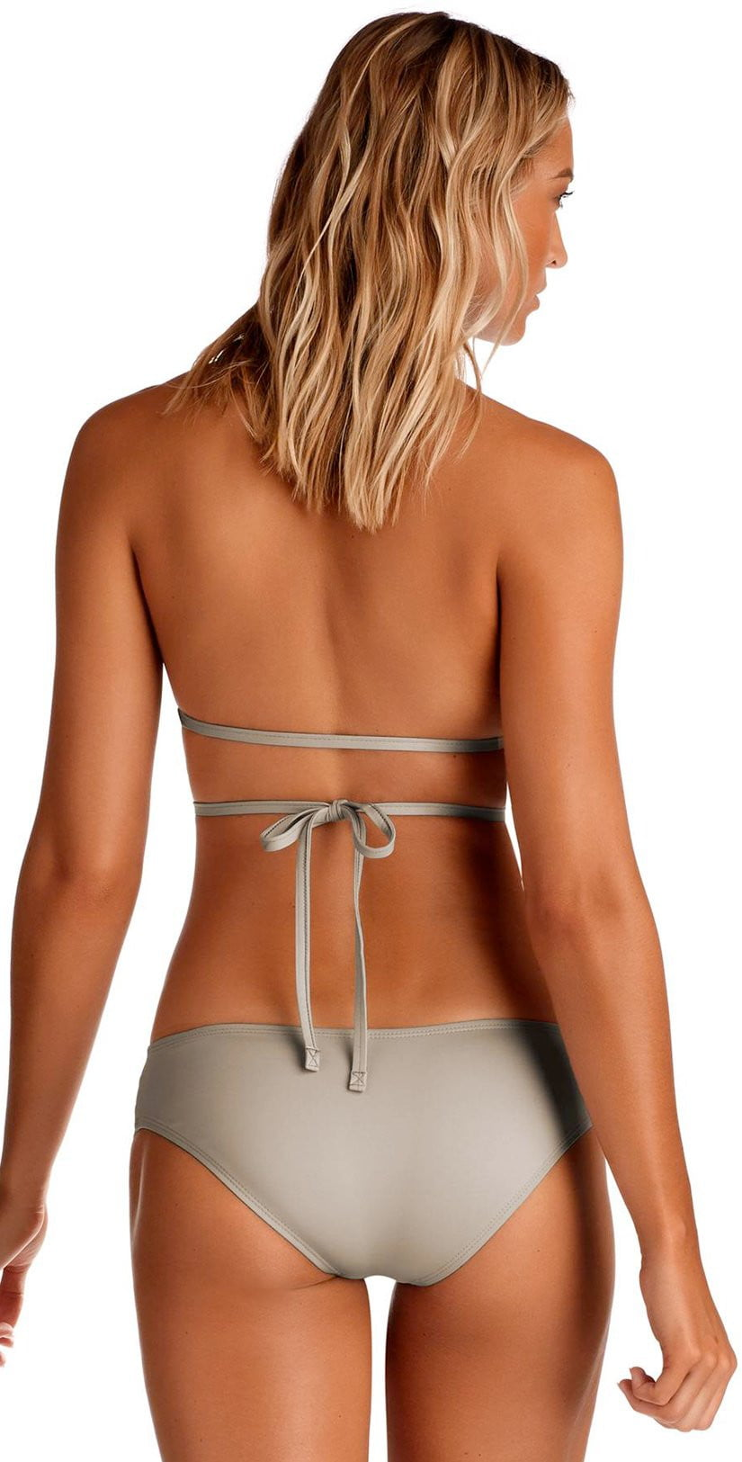 Vitamin A Pebble Eco Lux Serra Keyhole Wrap Top Back View