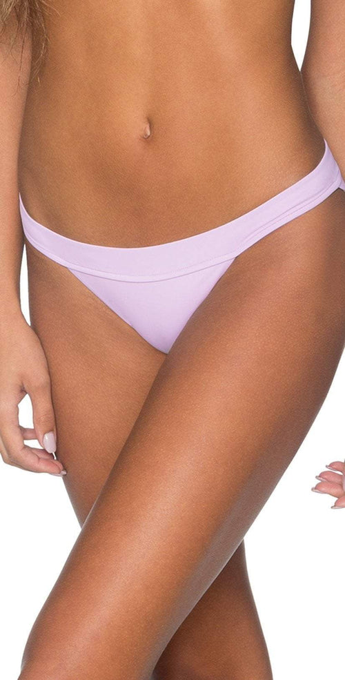 B. Swim Bellflower Hibiscus Bikini Bottom front view  bottom only