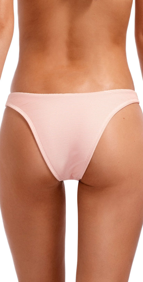 Vitamin A Perla Rose Bio Rib High-Leg Bottom 812B PBR back view