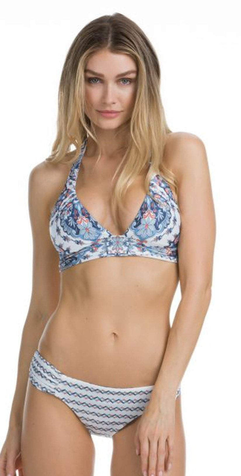 Becca Naples Reversible Halter Top 263187-MUL: