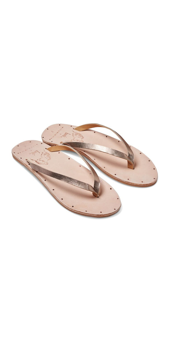 Vitamin A Beek Seabird Sandals in Bronze SEA-BZVA