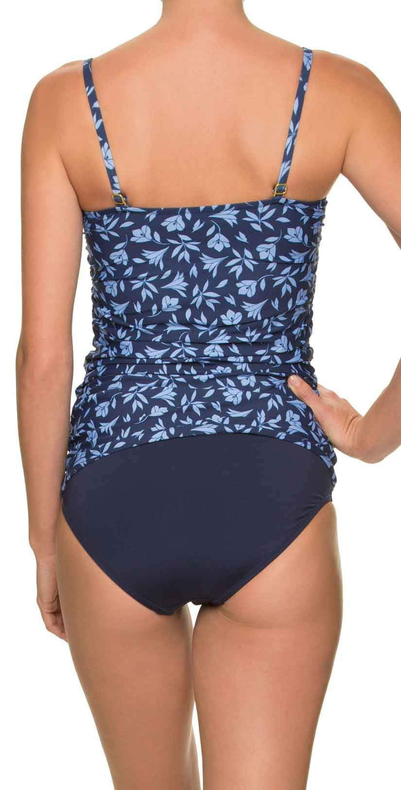 Draper James for Helen Jon Classic Hipster Bikini Bottom in Blue: