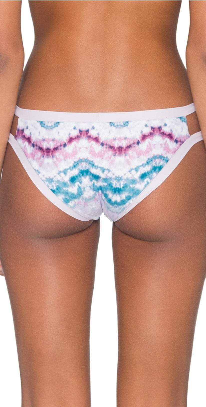 B. Swim Makai Tie Dye Florida Flip Reversible Bottom L27-MATD: