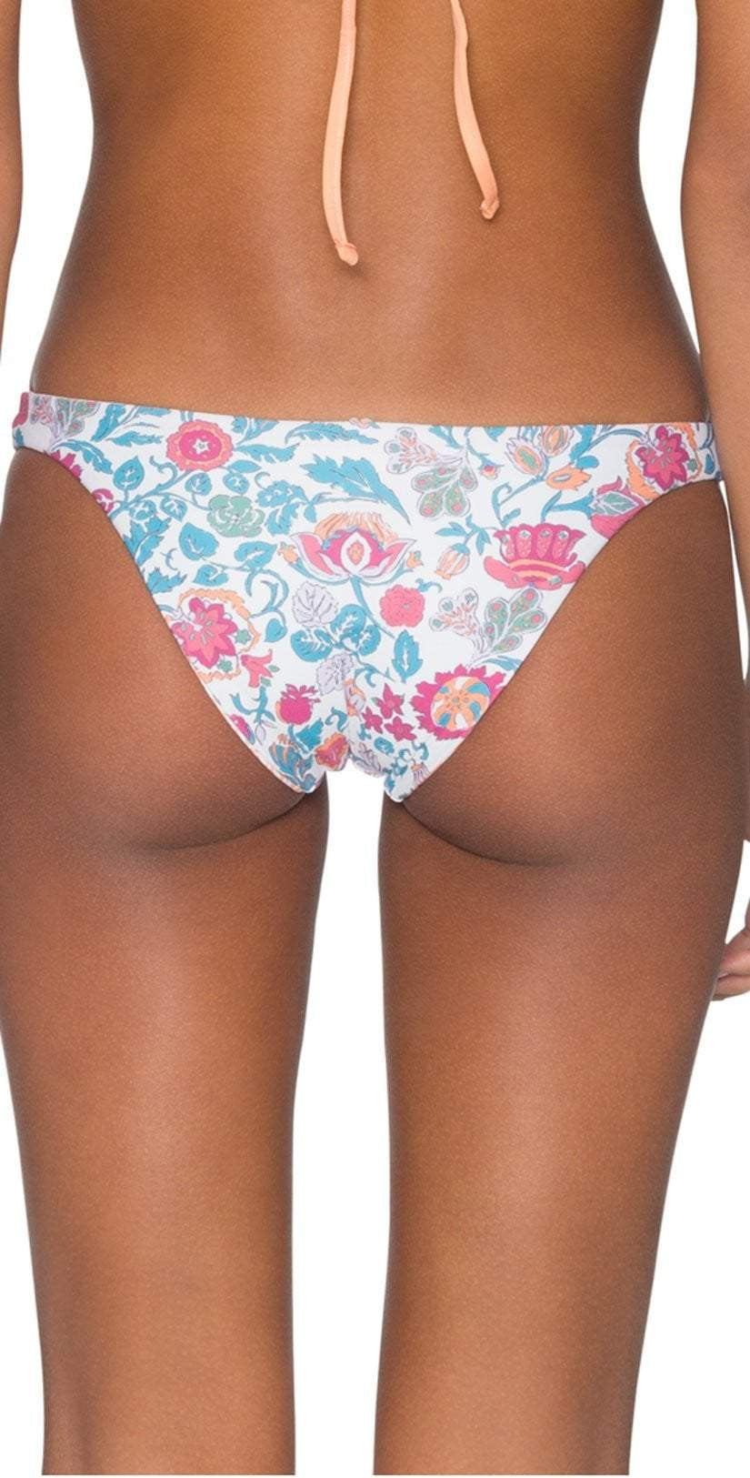 B. Swim Mele Blossom White Hampton Flip Reversible Bottom
