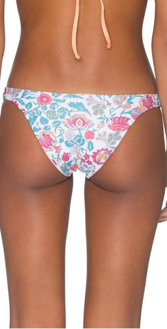 Beach Bunny Reese Adjustable Skimpy Bottom in Honey
