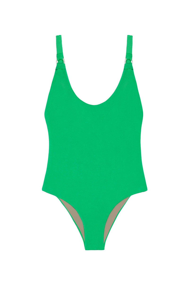 PQ Swim Sea Green Hailey One Piece Swimsuit