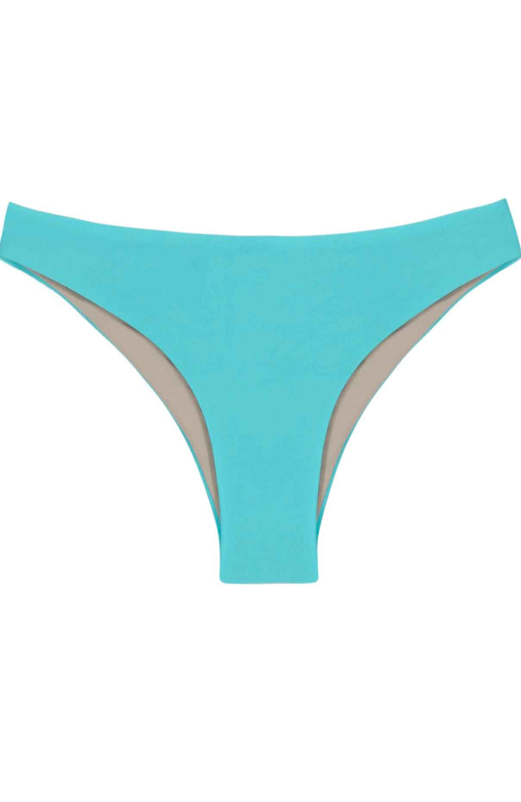 PilyQ Salt Water Basic Ruched Teeny Cut Bikini Bottom