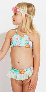 Seafolly Spring Bloom Little Girl's Tankini 26111T lifestyle