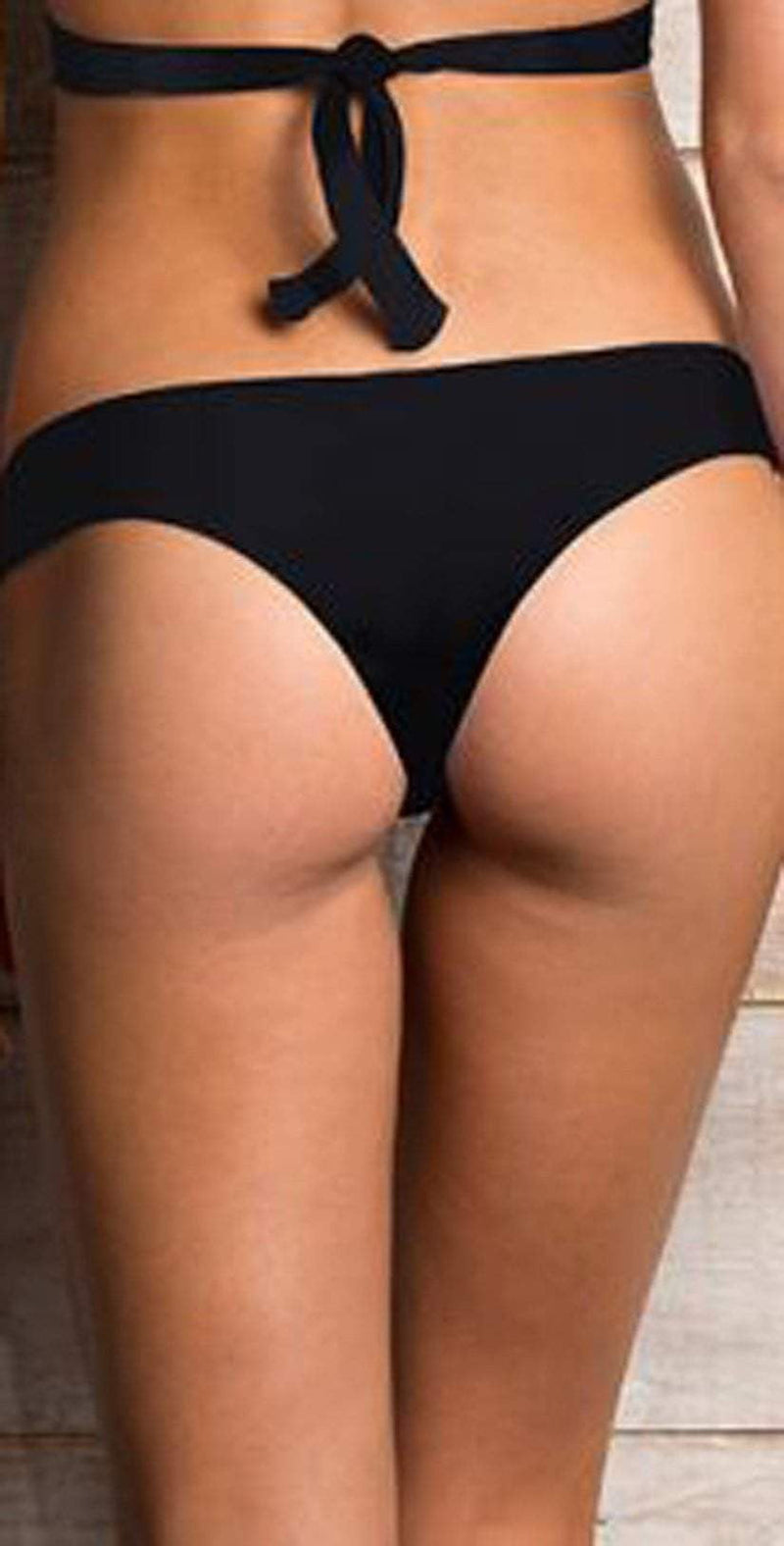 Maylana Teeny Bottom in Black OL17-BB-02-BLK: