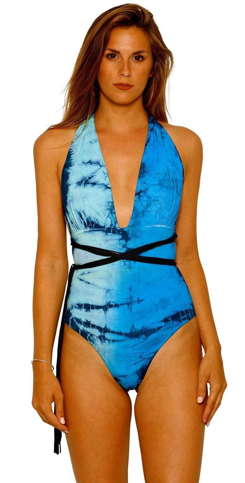 Charmosa Camille Reversible One Piece SOPMBR001 front view