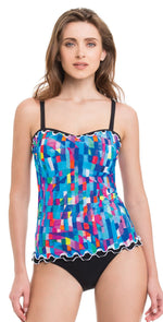 Profile By Gottex Serendipity Tankini Top E836-1E18-080: