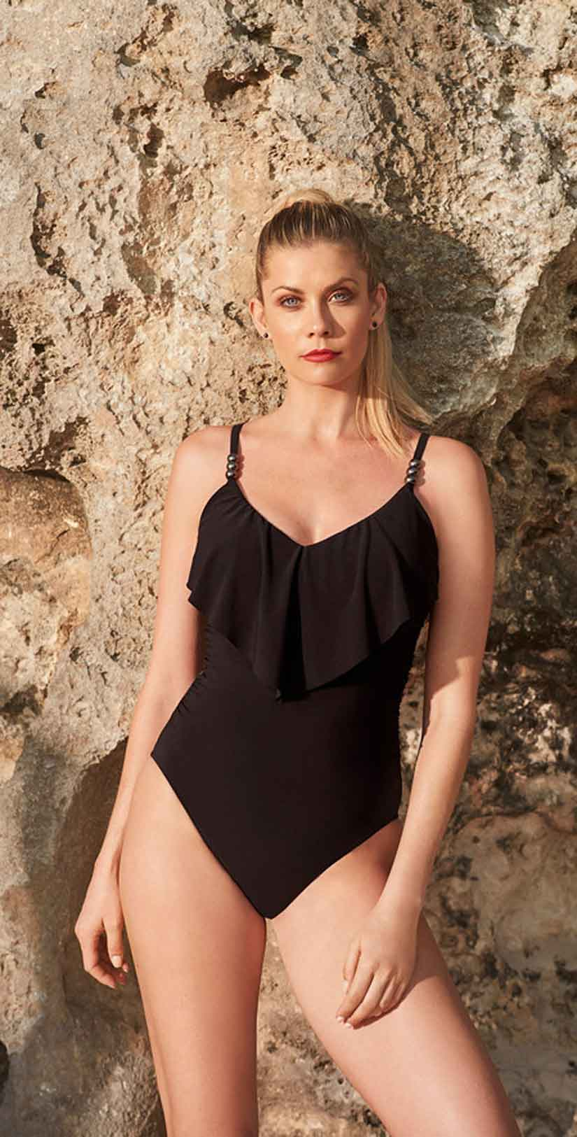 Magicsuit Isabel One Piece in Black front