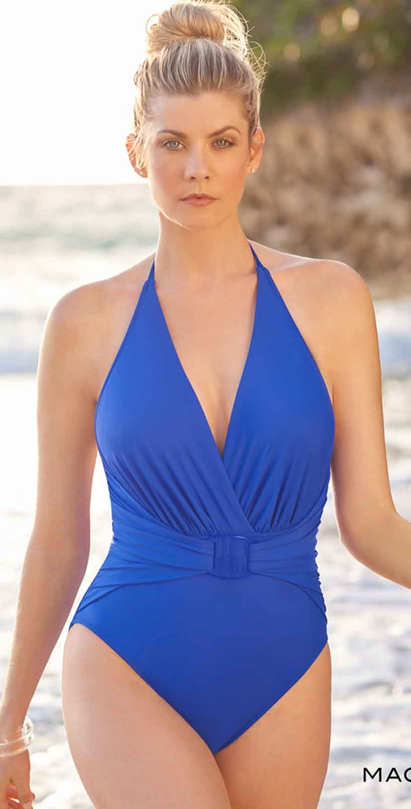 Magicsuit Angelina One Piece in Cobalt Blue front