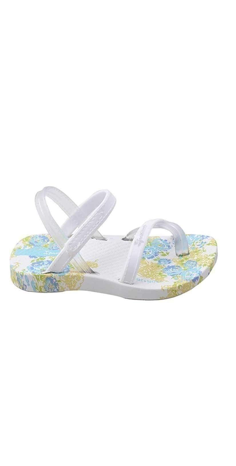 Ipanema Baby Blanket White Sandals side view