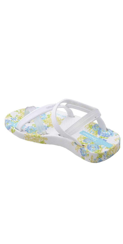 Ipanema Baby Blanket White Sandals back view