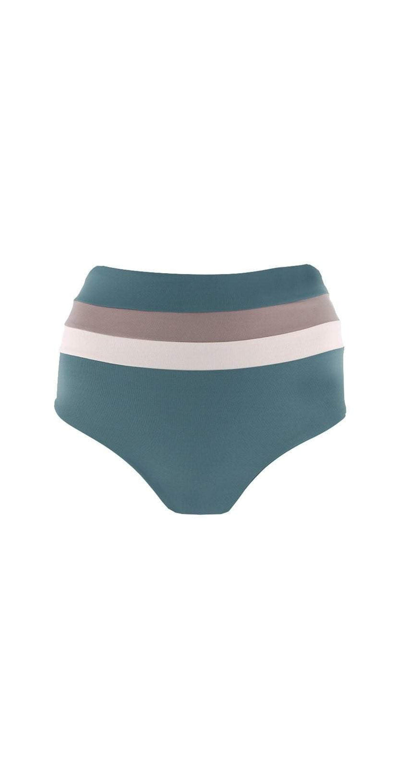 L Space Color Block Portia Bottom in Slated Glass CBPSC18-SLG:
