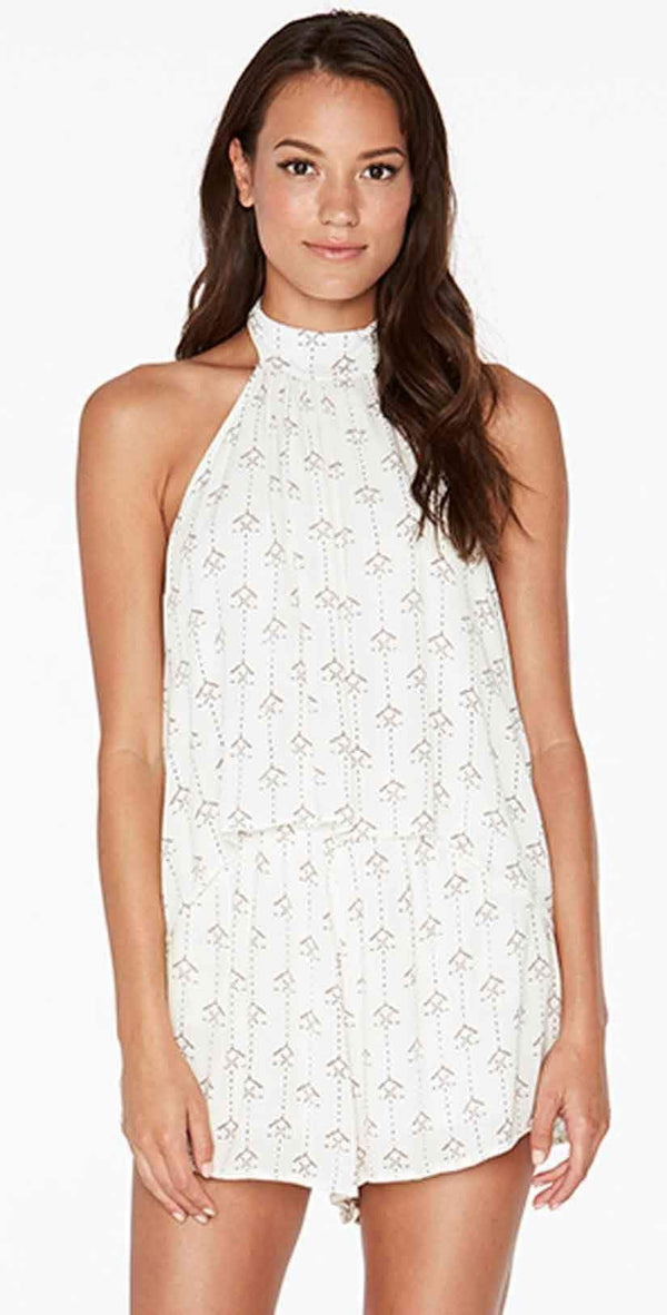 L Space Kelly Native Geo Romper in Ivory KENJU18-IVO
