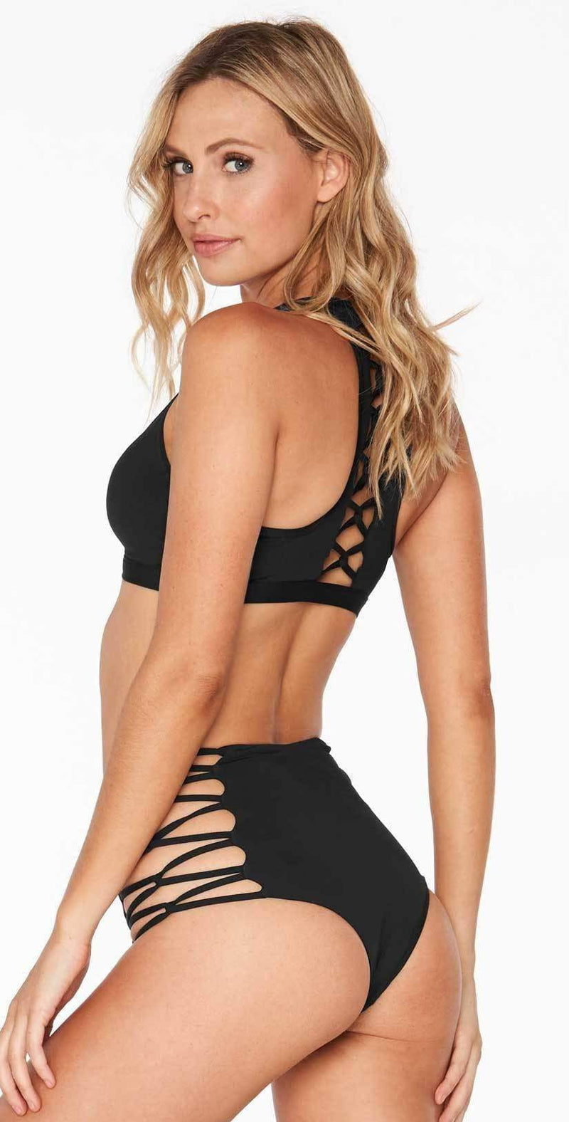L Space Skylar Top in Black LASKT17-BLK: