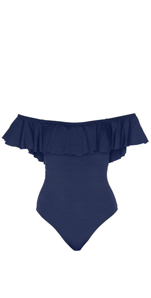 L Space Kimora One Piece in Midnight Blue MTKMM18-MDB: