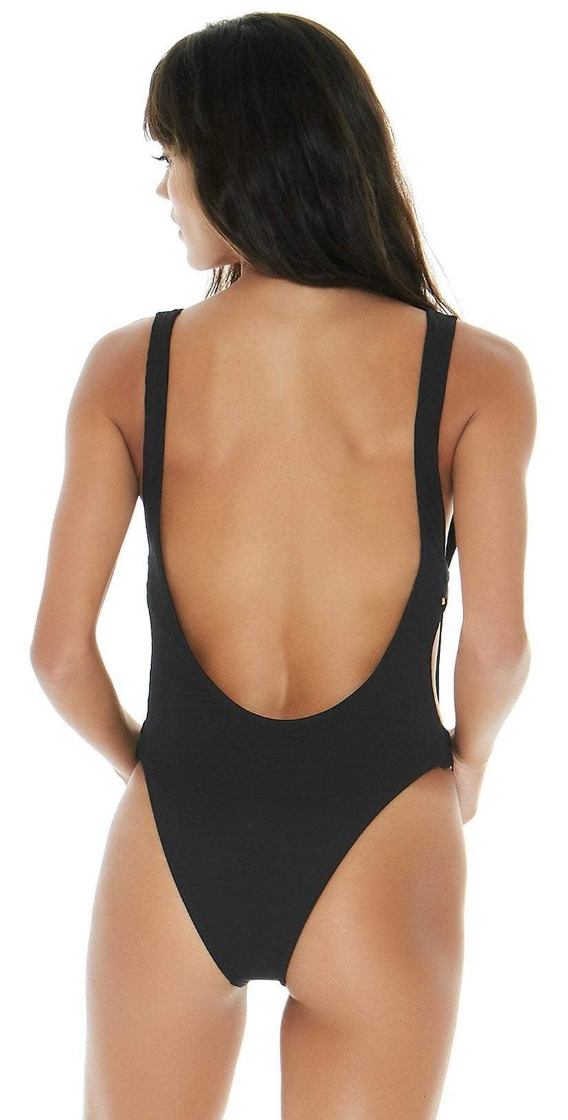 L Space Mayra One-Piece in Black RHMYMC18-BLK: