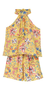L Space Kelly Romper in Pacific Bloom KEPJU18-SUG: