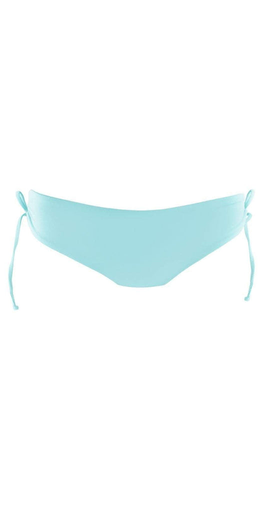 L Space Ella Bottom In Light Turquoise LSEAC18-LIT flat lay of bottom only