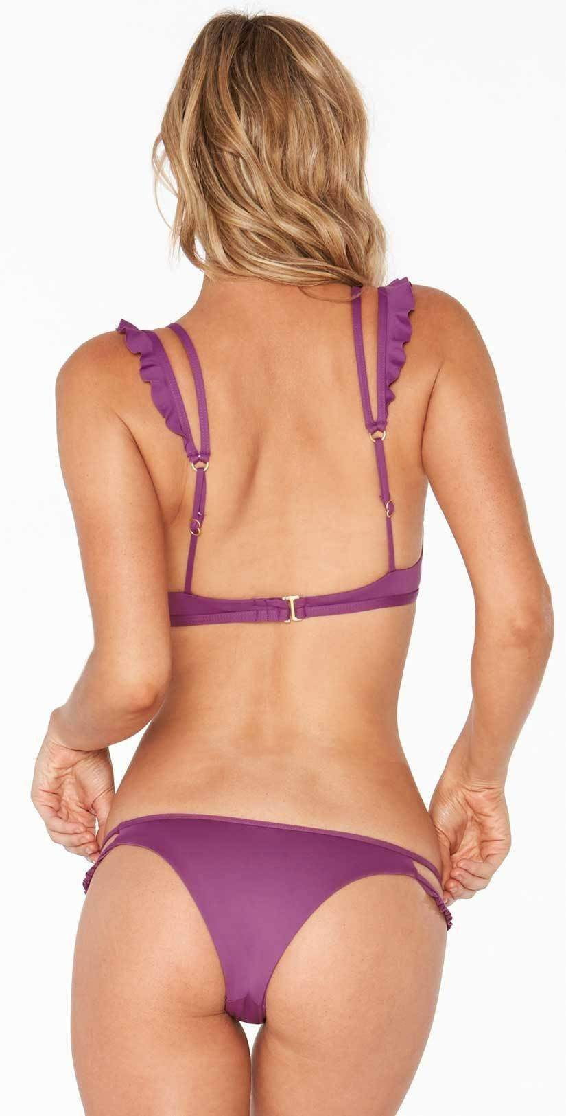 L Space Zephyr Bottom In Orchid LSZPB18-ORC back studio