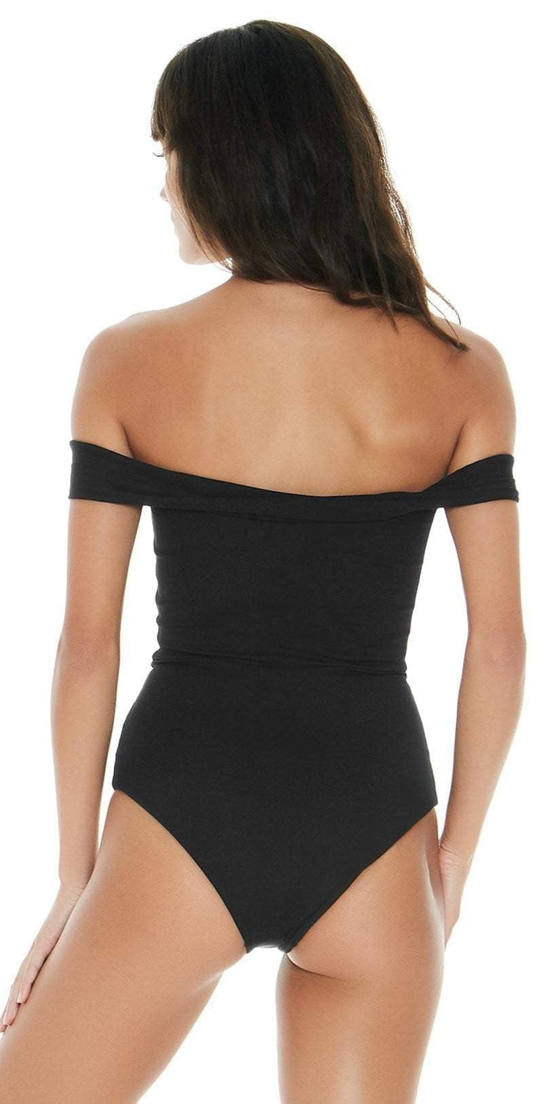 L Space Anja One Piece In Black RHAJMC18-BLK:
