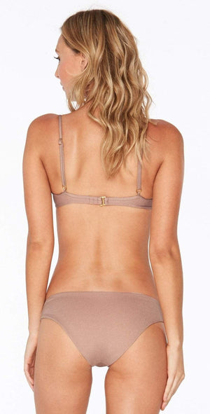 L Space Sandy Shine On Me Bottom in Dusty Pearl SHSNC18-DSP: