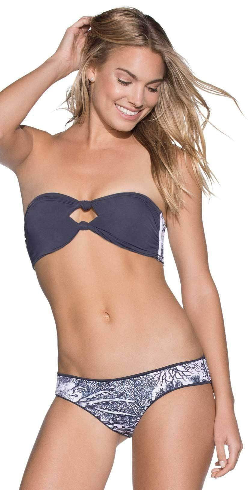 Maaji Glow In the Dark Moonless Night Bandeau Bikini