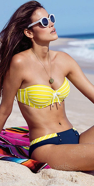 Lidea Sylt Bikini Set in Yellow 7883-577-554: