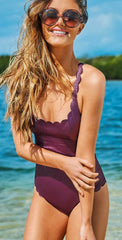PilyQ Plume Reversible Wave Gwen One Piece PLU-503P: