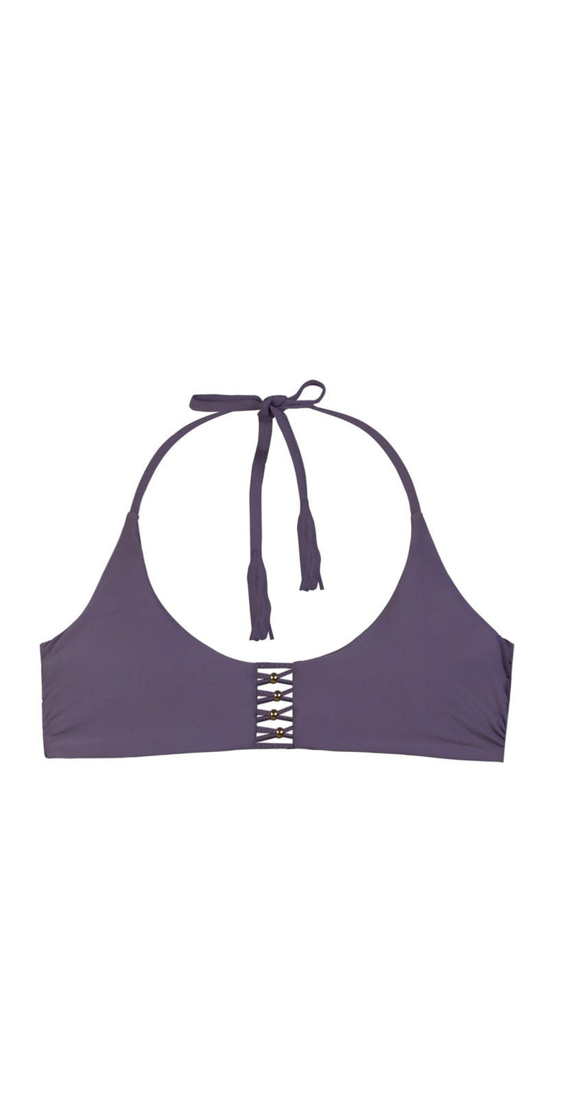 PilyQ Amethyst Braided Zen Top AME-177H: