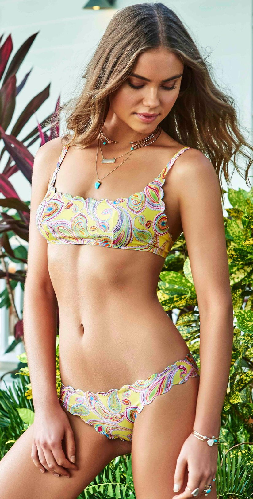 PilyQ Bahia Reversible Wave Top BAI-170B: