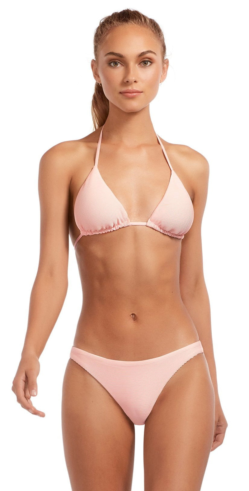 Vitamin A Perla Rose BioRib Luciana Full Coverage Bikini Bottom 167BF-PBR: